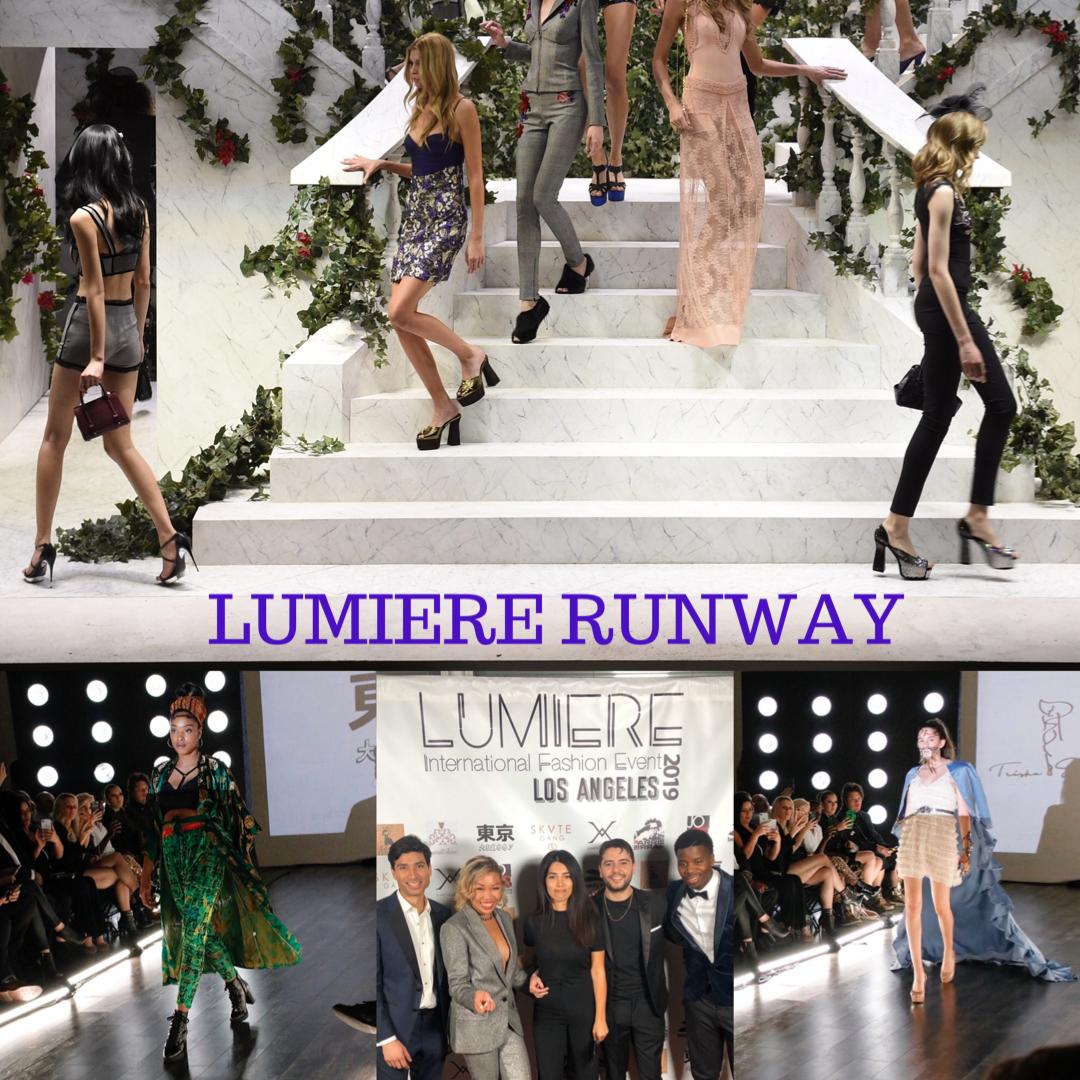 lumiere L.A website